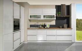 Einbauküche Faro in weiß, Miele-Geschirrspüler