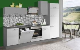 Marken-Einbauküche Pino 80 in weiß, Bauknecht-Geschirrspüler