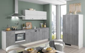 Einbauküche Pino 100 in Beton-Optik
