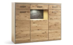 Highboard Espero in Asteiche bianco