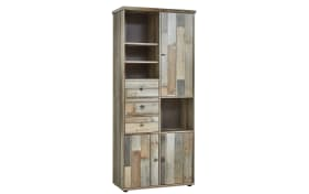 Stauraumelement Bonanza in Driftwood-Optik