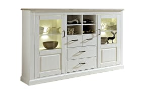 Highboard Lima in Pinie hell-Optik