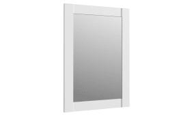 Garderobenspiegel Elara in weiß matt