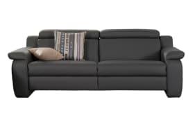 3-Sitzer für Ledergarnitur 1302 Planopoly motion in grau