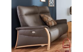 2,5-Sitzer 4536 Comfortmaster in brown mit elektrischer Funktion