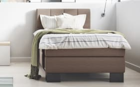 Boxspringbett Saga Aktion in mocca
