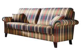 3-Sitzer Capri Plus im Streifendesign