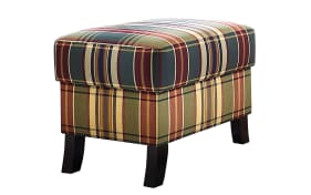 Hocker Capri Plus im Streifendesign
