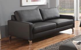 3-Sitzer LD 600 in schwarz