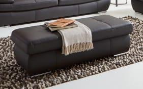 ledergarnitur savina in mocca online bei hardeck kaufen. Black Bedroom Furniture Sets. Home Design Ideas
