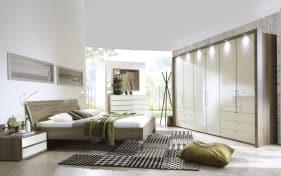 Schlafzimmer Loft in Trüffeleiche-Optik/Magnolie