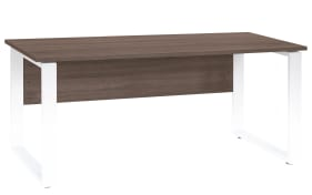 Schreibtischplatte Contact in Trüffel-Eiche-Optik, 150 x 80 cm