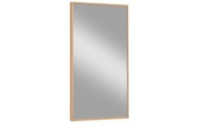 Spiegel V100 in weiß/Eiche bianco, 43 x 82 cm