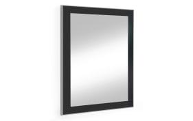 Spiegel Ventina in anthrazit/weiß, 60 x 77 cm