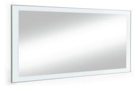 Spiegel Ventina in weiß, 120 x 77 cm