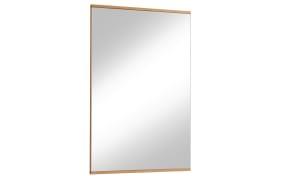 Spiegel Loveno II aus Eiche Bianco, 56 x 82 cm