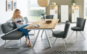 esstisch impuls p9 in eiche rustico hell online bei hardeck kaufen. Black Bedroom Furniture Sets. Home Design Ideas