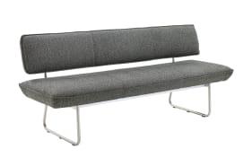 Sitzbank in schwarz