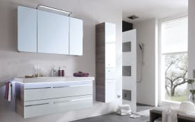 Badeinrichtung Bern in optiwhite/San Remo Eiche Optik