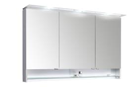 Spiegelschrank Leo Living 116 in schneeweiß Glanz