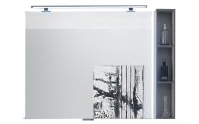 LED-Flächenspiegel Solitaire 9025 in Oxid hellgrau Matt