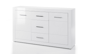 Sideboard Bianco in weiß/ Hochglanz-Optik