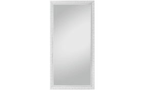 Rahmenspiegel Pius in weiß, 100 x 200 cm