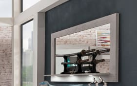 Wandspiegel Pure in grau