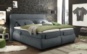 Boxspringbett Evolution 3 in anthrazit