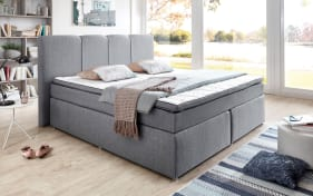 Boxspringbett BX 1420 in grau