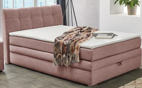 Boxspringbett Amelie in rose