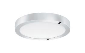 LED-Ein-/Aufbauleuchte Fueva 1 in chromfarbig