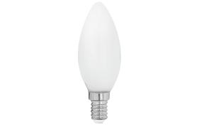 LED-Leuchtmittel Kerze Milky Filament, 4W / E14