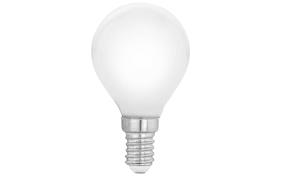 LED-Leuchtmittel Tropfen P45 Milky, 4W / E14
