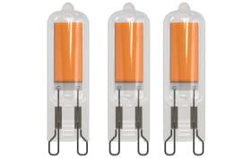 LED-Leuchtmittel 2W / G9, 3er-Set