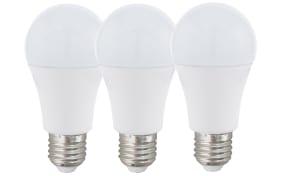 LED-Leuchtmittel 7,5W / E27 mit RGB-Funktion, 3er-Set