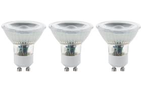 LED-Leuchtmittel 3,3W / GU10, 3er-Set