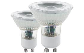 LED-Leuchtmittel 3,3W / GU10, 2er-Set