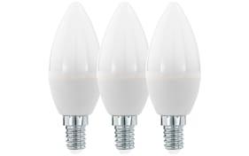 LED-Leuchtmittel Kerze 6W / E14, 3er-Set