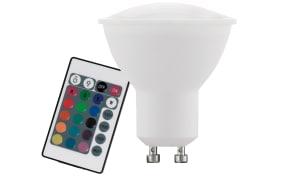 LED-Leuchtmittel  4W / GU10, RGBW