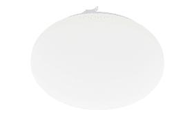 LED-Deckenleuchte Frania in weiß/rund, 43 cm