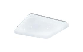 LED-Deckenleuchte Frania-S in weiß, 28 x 28 cm