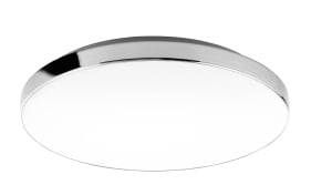 LED-Deckenleuchte 3351-216 chromfarbig/weiß, 35,5 cm