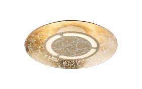 LED-Deckenleuchte Tabea in goldfarbig, 21,5 cm
