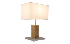 Tischleuchte Gump in Eiche-Optik, 51 cm
