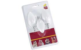 LED-Leuchtmittel Kerze 6W / E14, 3er-Pack