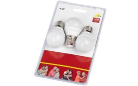 LED-Leuchtmittel Tropfen 986-63 6W / E27, 3er-Set