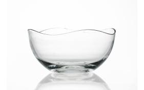 Schale Wave in klar, 26 cm