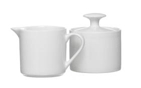 Zuckerdose Bianco in weiß, 7 cm