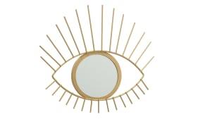 Spiegel Auge in gold, 27 cm